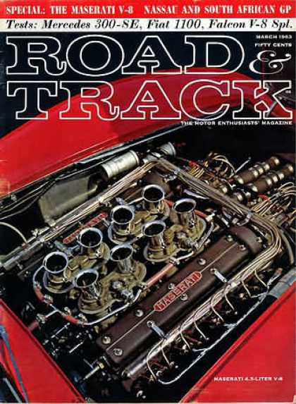 Road & Track - March 1963