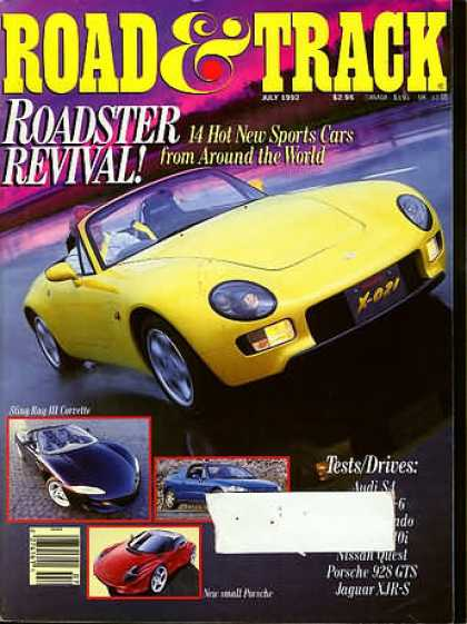 Road & Track - July 1992