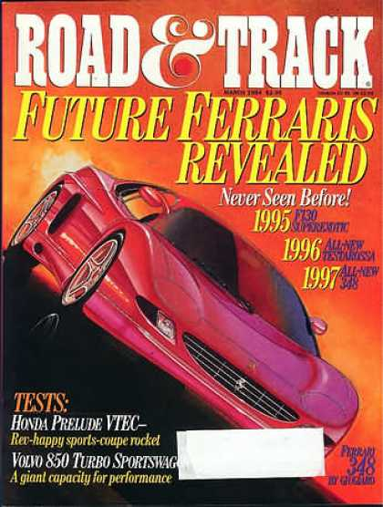Road & Track - March 1994