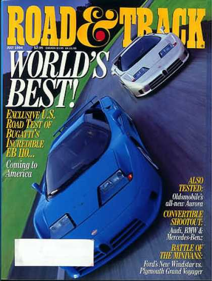 Road & Track - July 1994