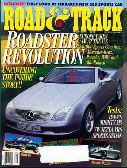 Road & Track - August 1994