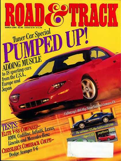 Road & Track - March 1995