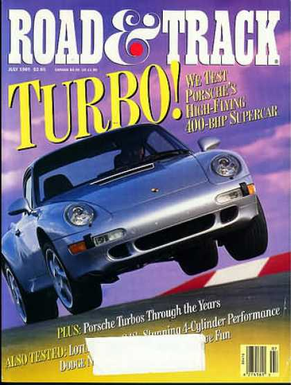 Road & Track - July 1995