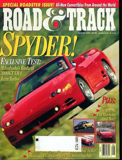 Road & Track - August 1995