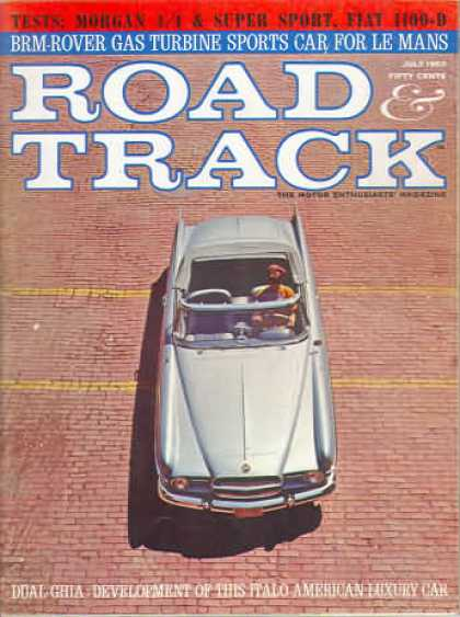 Road & Track - July 1963