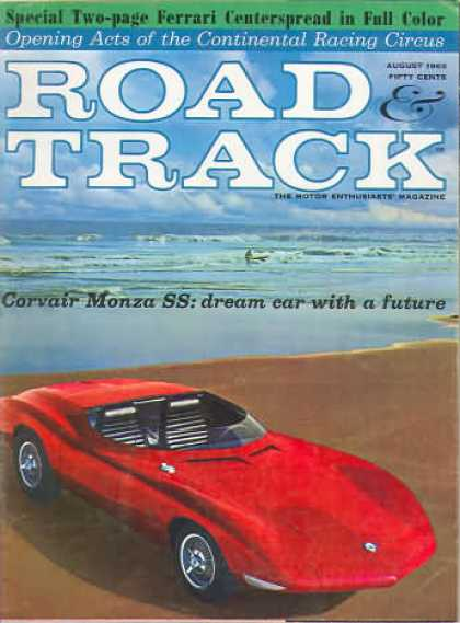 Road & Track - August 1963