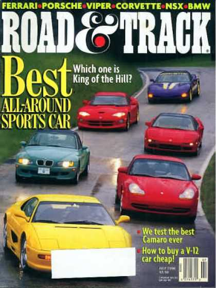 Road & Track - July 1998