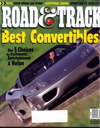 Road & Track - July 2001