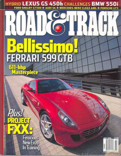 Road & Track - July 2006