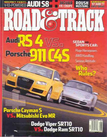 Road & Track - August 2006