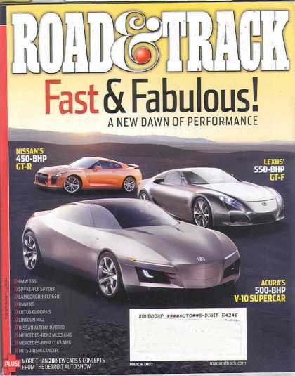 Road & Track - March 2007