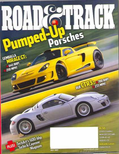 Road & Track - July 2007