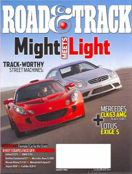Road & Track - August 2007