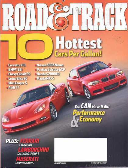 Road & Track - August 2008