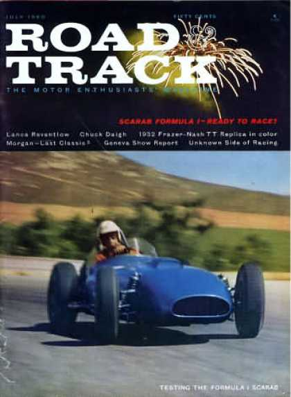 Road & Track - July 1960