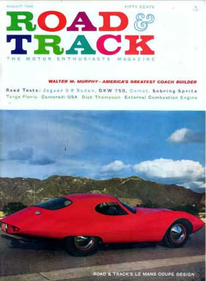 Road & Track - August 1960