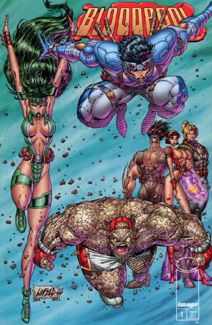 Rob Liefeld Covers 35