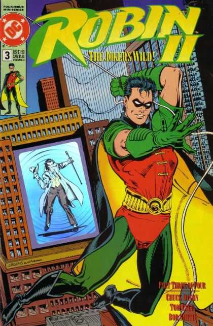 Robin II 3 - Dc - City - The Jokers Wild - Chuck Dixon - Buildings