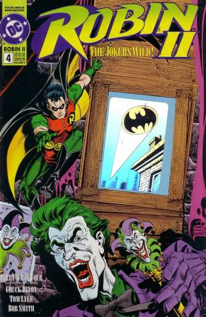 Robin II 4 - Batman - Jokers Wild - Joker - Card - Bat Signal