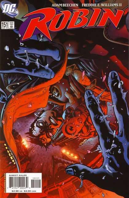 Robin 151 - Dc Comics - Gun - Black Hands - Adam Beechen - Freddie Williams - Patrick Gleason