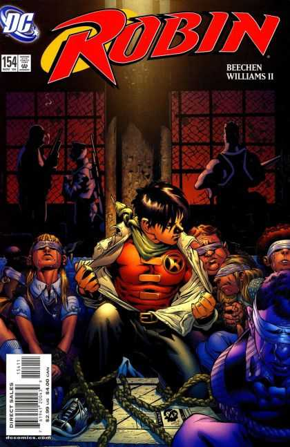 Robin 154 - Dc - Williams Ii - Beechen - Approved By The Comics Code Authority - Direct Sales - Patrick Gleason