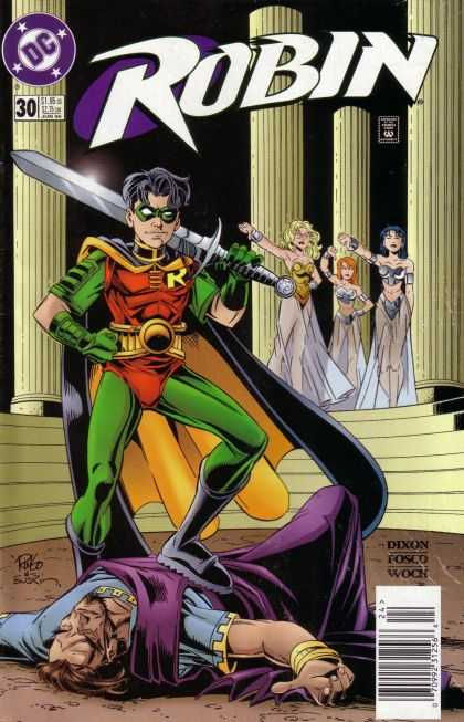 Robin 30 - Victory - Broad Sword - Pillars - Maidens - Salutes - Mike Wieringo