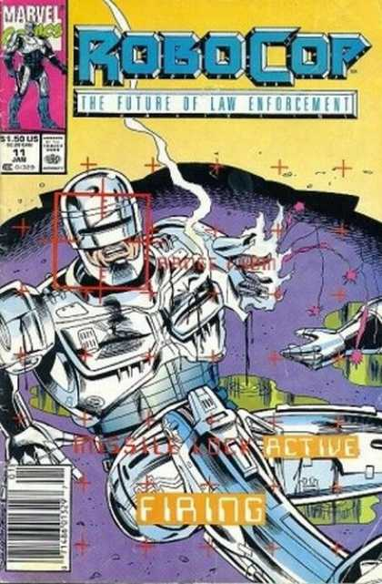 Robocop 11 - Broken - Law Enforcement - Marvel - Active Firing - Missle