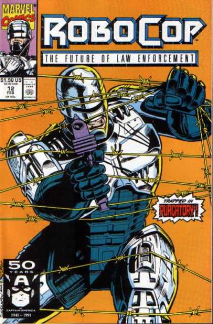 Robocop 12 - Guns - Action - Future - Law Enforcement - Wire