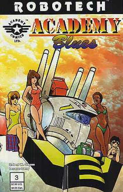 Robotech: Academy Blues 3 - Academy Comics - Comic - 3 - Women - Robot