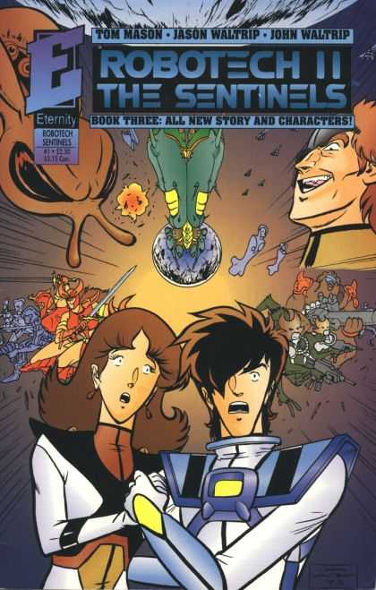Robotech 1 - Tom Mason - Eternity - Jason Waltrip - John Waltrip - Book Three