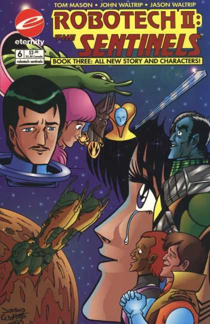 Robotech 6 - Space - Aliens - Tears - Love - Rescue