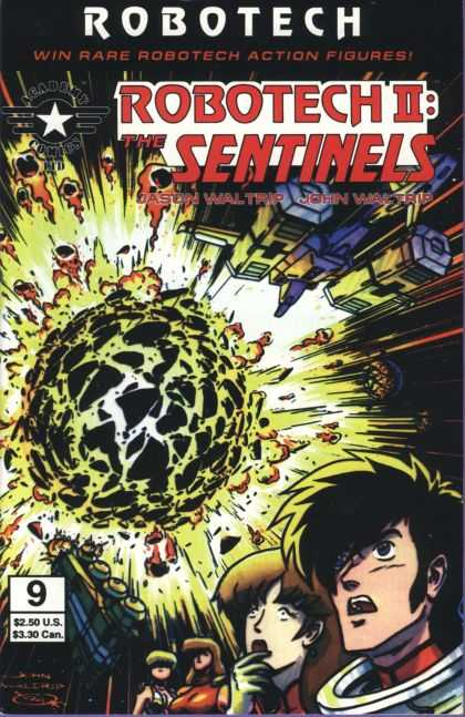 Robotech 9 - Sentinels - Academy Comics - No 9 - Jason And John Waltrip - Antarctic Press