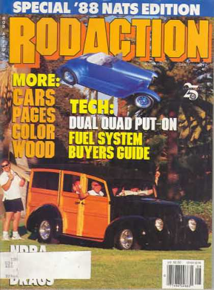 Rod Action - August 1988