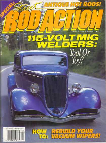 Rod Action - July 1989