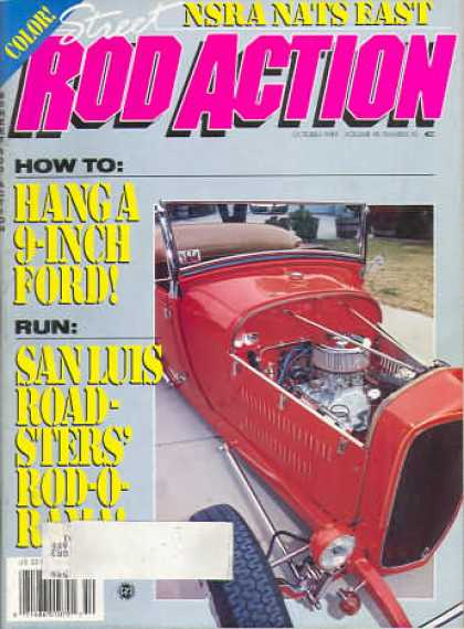 Rod Action - October 1989