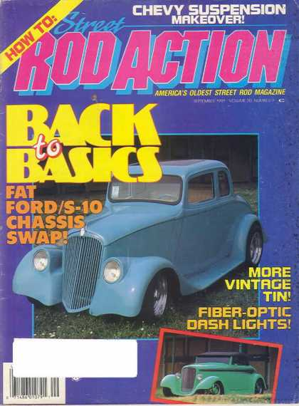 Rod Action - September 1991