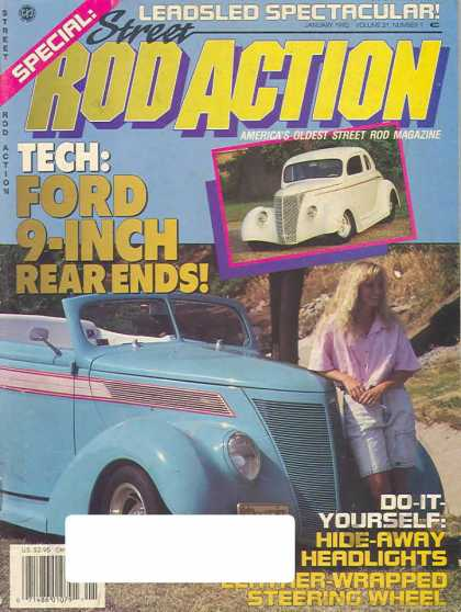 Rod Action - January 1992