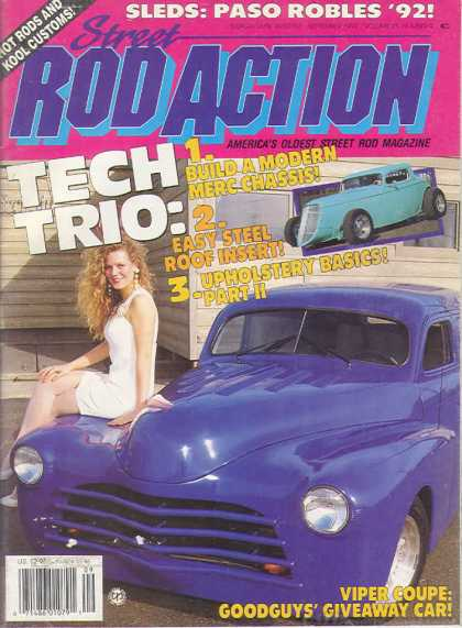 Rod Action - September 1992