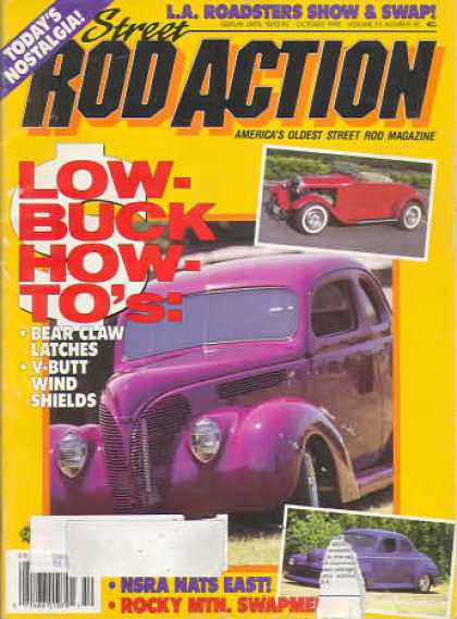 Rod Action - October 1992