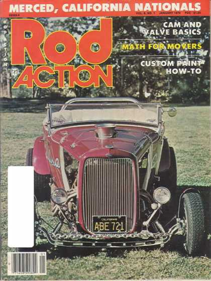 Rod Action - January 1979