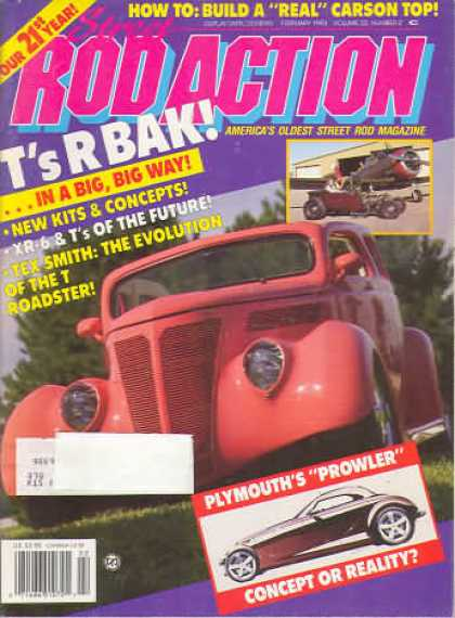 Rod Action - February 1993