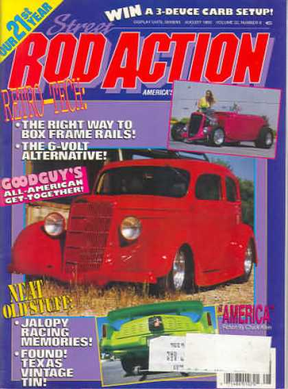 Rod Action - August 1993