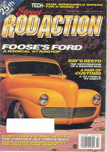 Rod Action - February 1996