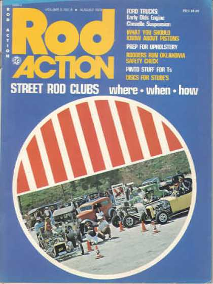 Rod Action - August 1974