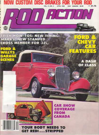 Rod Action - April 1982
