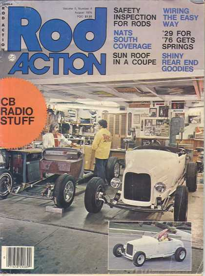 Rod Action - August 1976