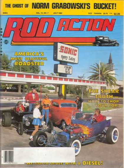 Rod Action - July 1985
