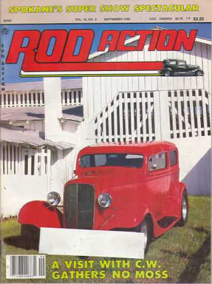 Rod Action - September 1985