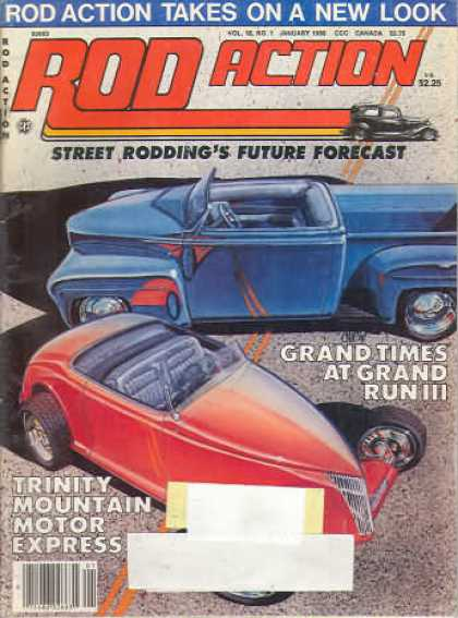 Rod Action - January 1986