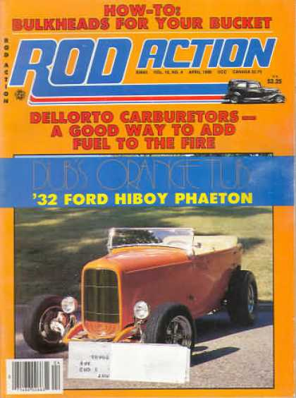 Rod Action - April 1986